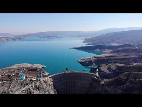 Сулакский каньон и Чиркейская ГЭС. Дагестан.