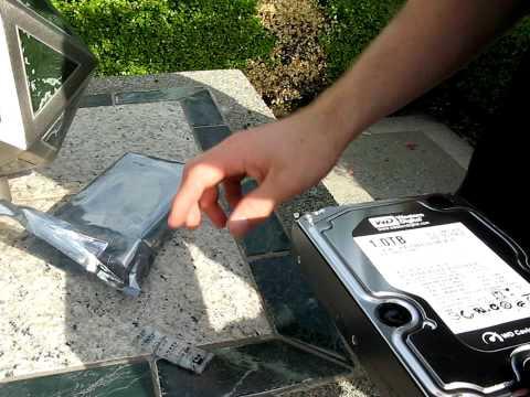 Western Digital Caviar Black 1TB Dual Processor SATA Hard Drive Unboxing Linus Tech Tips