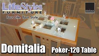 Domitalia Poker 120 Dining Table