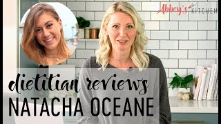 Dietitian Reviews Natacha Oceane | What I Eat in a Day Review