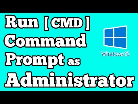 How to Run Command Prompt [ CMD ] as Administrator in windows 10
