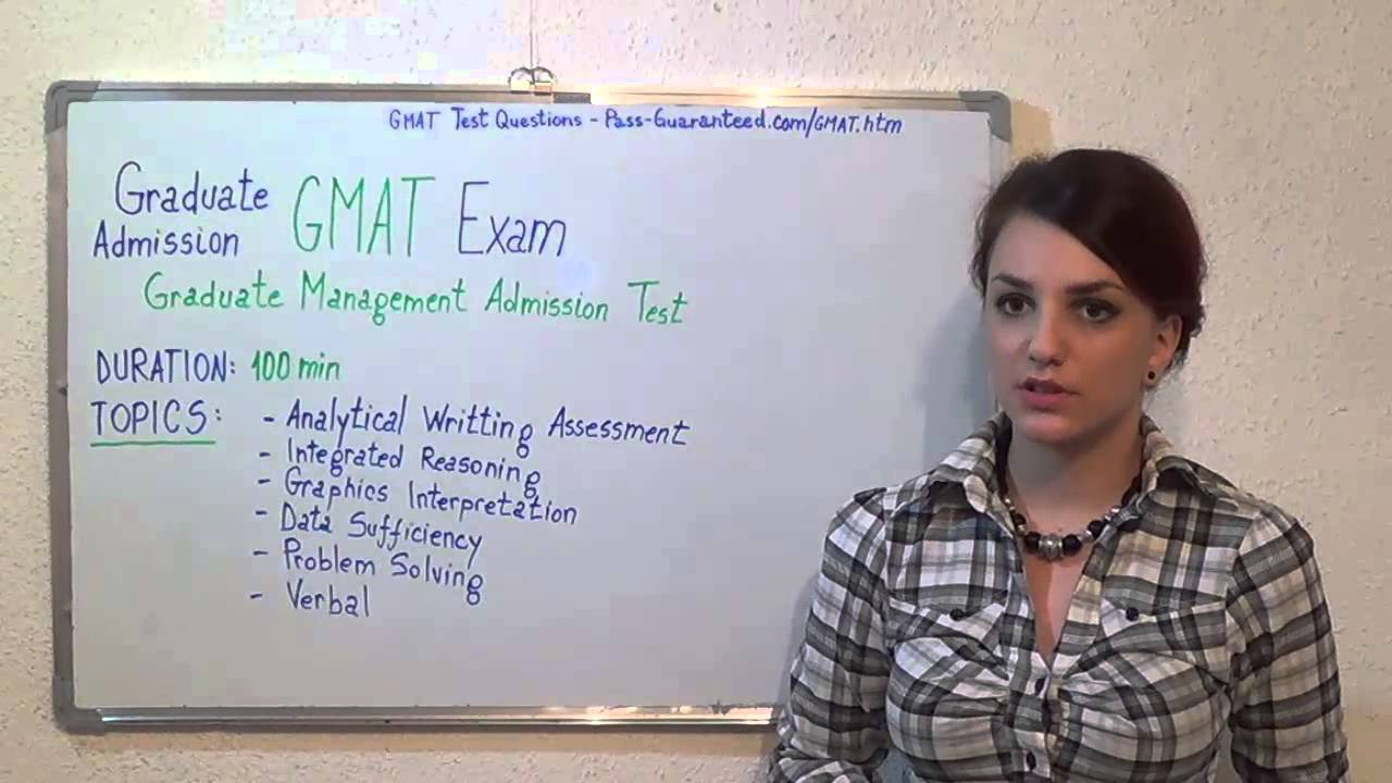 GMAT Test Questions Exam PDF Answers - YouTube