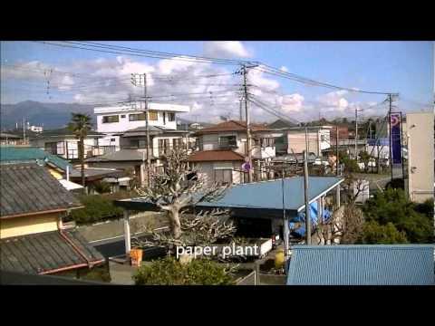 Japanese view Fuji-shi Shizuoka-ken