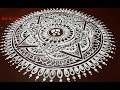 jhoti chita art  floor art  rangoli art  Easy Alpana Design Free Hand Kolam Design Muggulu