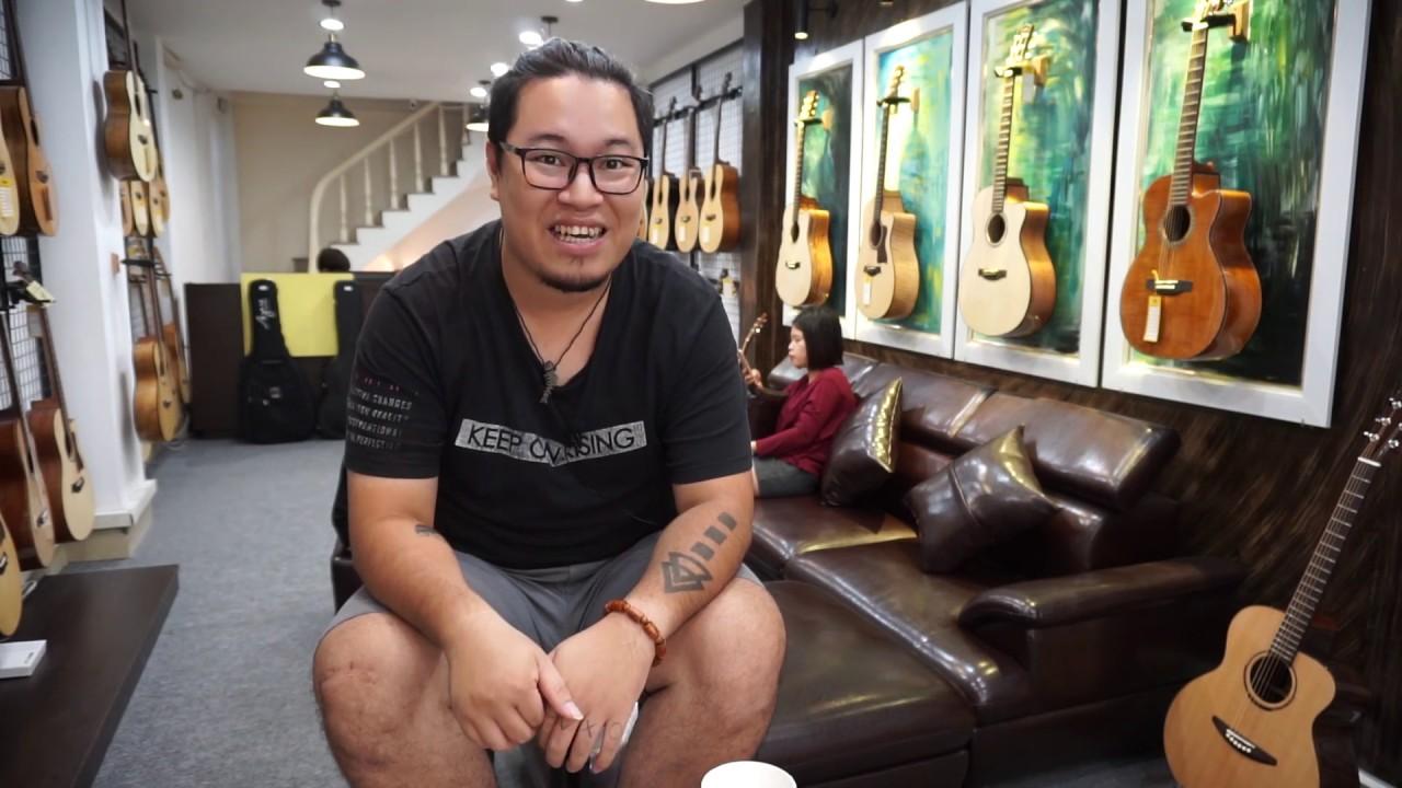 [Review] Hà Nội mua đàn guitar Việt Nam ở đâu tốt?