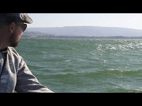 Crazy Waves 🌊⛵on The Sea Of Galilee (LIVE)