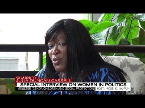Interview on women in Politics with Liberia's Minister of Gender, Children and Social Protection