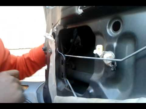 1996 Honda Accord 2 Door Ex Wiring Diagram Pt 2 96 00 Honda Civic Door Handle Lock Removal Youtube