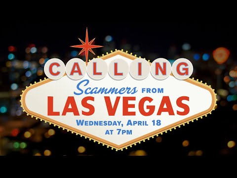 Calling Scammers From LAS VEGAS! (Pushed to 8pm!)