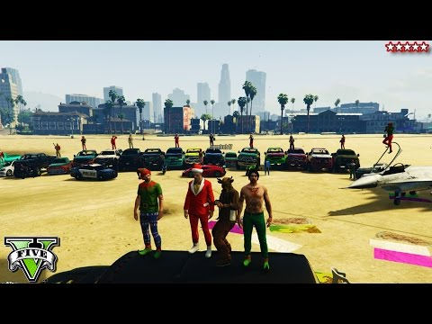 GTA 5 OPEN LOBBY OFF- ROADING & SUPER Races w/ The CREW - GTA V Funny Moments