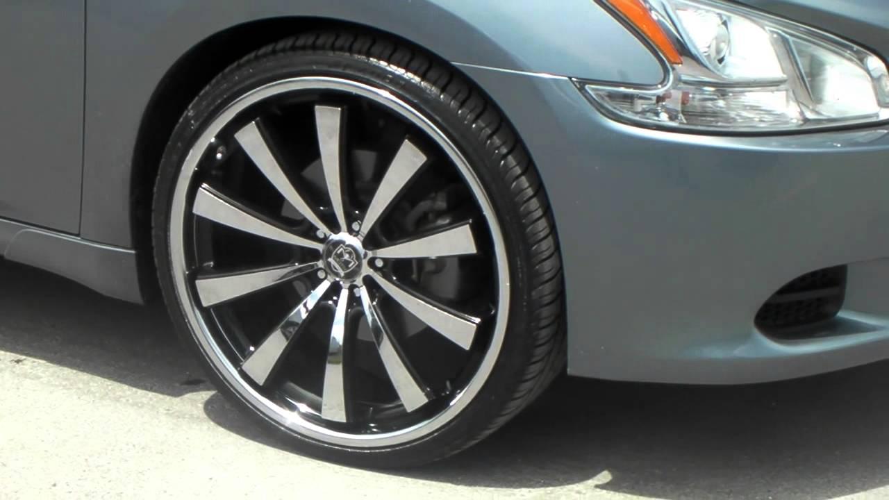 DUBSandTIRES.com 22 Inch Motiv 407B Chrome Wheels 2012 ...