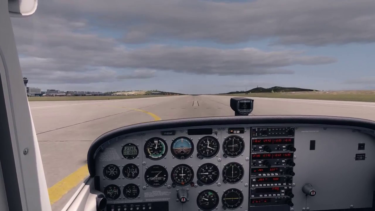 Prepar3d V4 at Athens Fly Tampa HD test