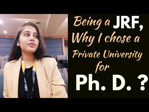 Being A JRF ,Why I Chose Private University🎓for My Ph. D.?|#Rewind|Amity University|Niharika Jaiswa
