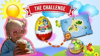 Easter Surprise Egg Hunt with Toys Challenges