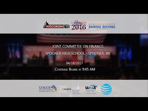Joint Committee on Finance - Spooner, WI
