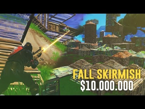 ETT GAME I FALL SKIRMISH $10.000.000 SOLO! - FORTNITE PÅ SVENSKA