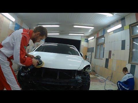 Выездная работа. Полировка. Mazda 6