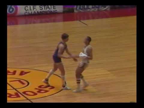 1983 State Championship Basketball Game: Menlo School vs Santa Clara March 19th, 1983
