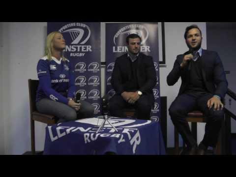 Robbie Henshaw & Jamison Gibson-Park Q&A