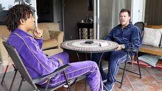 Balcony Conversations - Velour Jumpsuits