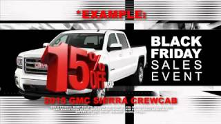Crawford Buick GMC has the best and longest Black Friday Sale!