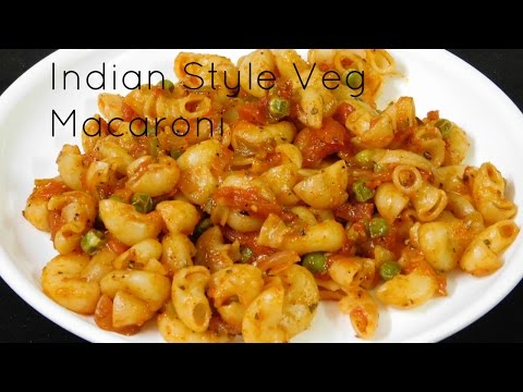 Vegetarian Pasta Recipes Indian Style Pasta Recipe Indian Pasta Recipes Veg Macaroni Rec