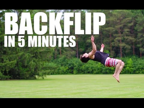Learn How to Backflip in 5 Minutes | ASAP