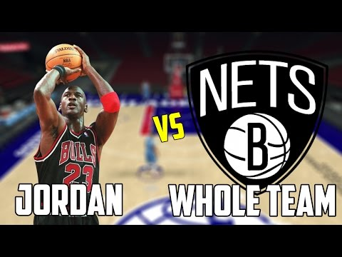 CAN MICHAEL JORDAN BEAT THE WORST NBA TEAM BY HIMSELF? NBA 2K17!