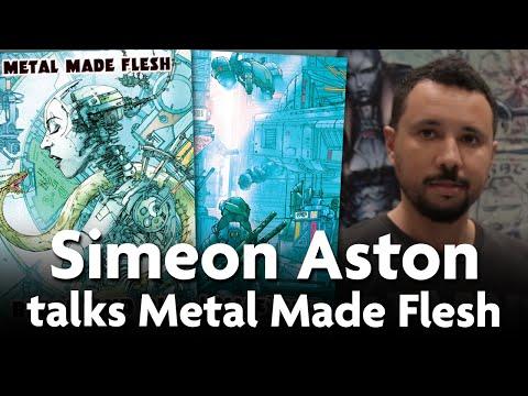 Simeon Aston talks Metal Made Flesh Comic at MCM Comicon