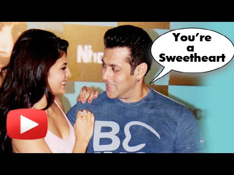 Salman Khan Says, Jacqueline Fernandez Is A SWEETHEART