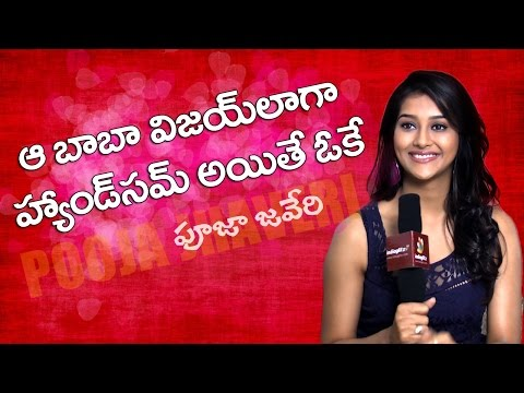 If the ''Baba'' is very handsome like Vijay, then yes: Pooja Jhaveri | Exclusive Interview