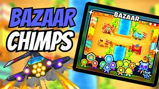 BTD6 Bazaar CHIMPS - Black Border Strategy!