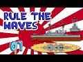 Rule the Waves - ep 1 - Japan 1900 - Let's Play Rule the Waves