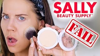 SALLY'S BEAUTY DISASTER | Fail
