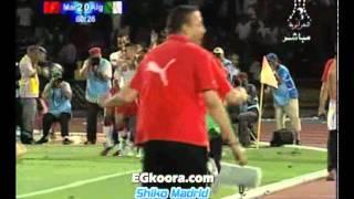 اهداف مباراة المغرب والجزائر 4-0 كاملة