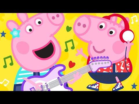 Peppa Pig Official Channel   Peppa Pig Songs - Bing Bong Zoo   Kids Songs