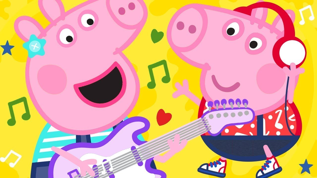 Peppa Pig Official Channel | Peppa Pig Songs - Bing Bong Zoo | Kids Songs