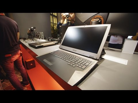 Hands on with Asus' water-cooled gaming laptop