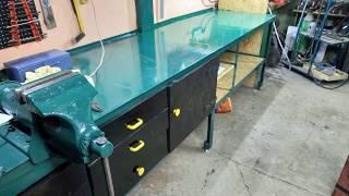 How to Build a Workbench / Stół warsztatowy budowa