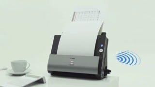 Протяжный сканер Canon DR-C225W видео(Протяжный сканер Canon DR-C225W отличается стильным дизайном, компактными размерами и высокой скоростью сканиро..., 2015-12-22T12:44:12.000Z)