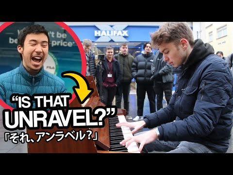 I Played ANIME SONGS On Piano In Public