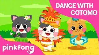 Dance with COTOMO Cats | The World Song | Cotomo Cats | Pinkfong Songs for Children