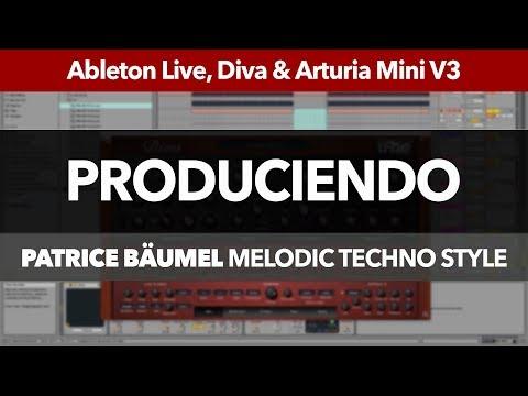 PRODUCIENDO #1: Melodic Deep Techno con Ableton Live (Estilo Patrice Bäumel)