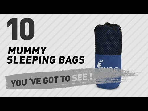 Mummy Sleeping Bags Best Sellers // Amazon UK 2017
