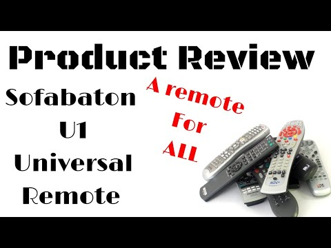 💥PRODUCT REVIEW 💥All New Sofabaton U1 Universal remote November 2019