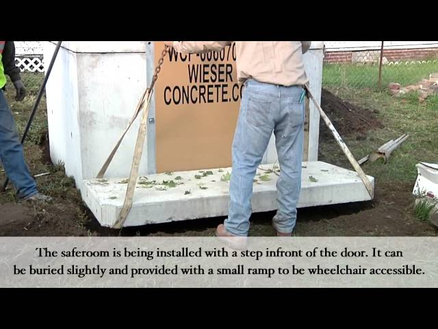 Video 5: Safe Room Installation-Wieser Concrete Products