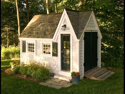 """""""The Doll House"""" - DIY Storage Shed, Children's Playhouse or Tiny House On Wheels - You decide!"""