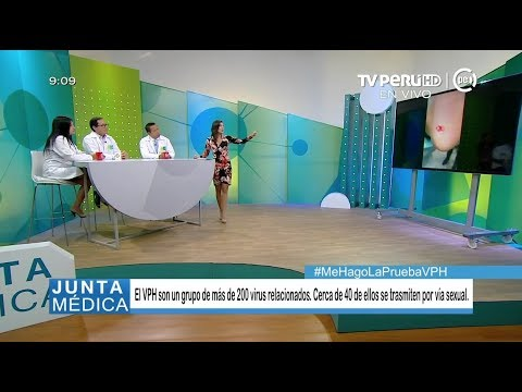 Junta médica (TV Perú) - Cáncer de cuello uterino - 21/05/2018