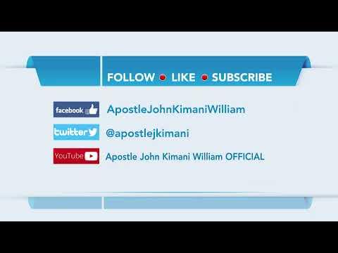 Partaking the Divine Nature || Apostle John Kimani William
