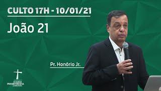 Culto Celebração  - Pr. Honório Jr. -  19h - 10/01/2021
